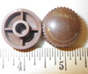Antique Resin BROWN TUNING KNOB, Knob