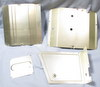 Russian R-311 P-311 Receiver Chassis cover panel set of 4