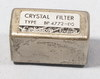 Martek MRR5 or Racal Syncal Crystal Filter Cathodeon type BP 4772-00