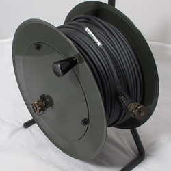 10-Conductor Cable on Reel over 260 feet long with connectors and caps un-used very nice.