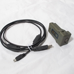 Harris PRC-152 USB Adapter and Cable 12041-7227-01 un-used