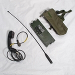Racal RT-349 Handheld Transceiver w/Case, Antenna and Handset