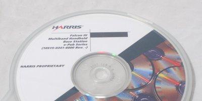 Harris Falcon III Multiband Handheld Base Station Operators Manual CD  10515-0341-6000