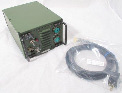 Harris RF-5051-PS001 AC Power supply with power cord for RF-5000 PRC-138  Falcon II Falcon III etc 12045-4001-01 un-used