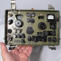 Romanian R-3110 HF Receiver 1 5-30 1MHz runs on 12VDC